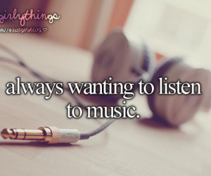 music, just girly things, and headphones image