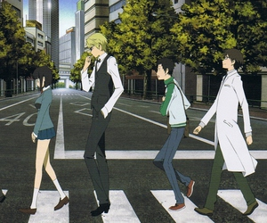 drrr, durarara, and anime image