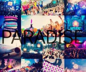 paradise, Tomorrowland, and party image