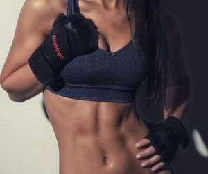 girl, fit, and fitness image