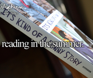 summer, books, and just girly things image