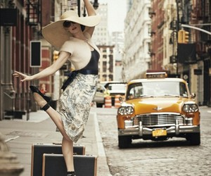 dance, hat, and street image
