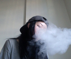 smoke, grunge, and pale image