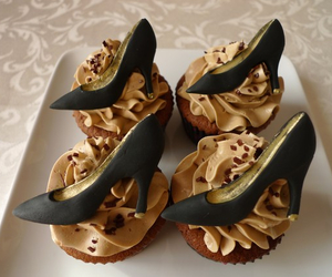 cupcakes, high heels, and louboutins image
