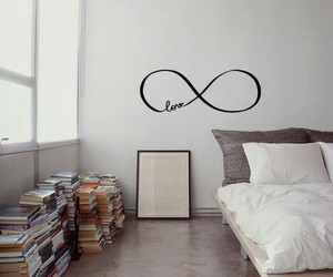 book, infinity, and room image