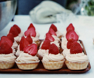 cream, delicious, and muffins image