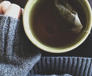 tea, winter, and indie image