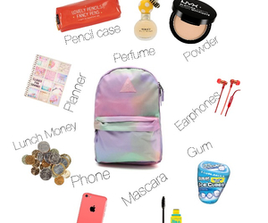 backpack, Polyvore, and swag image