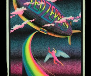 led zeppelin, rainbow, and music image