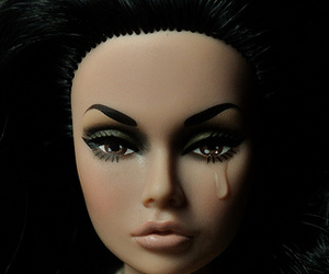 doll and sad image