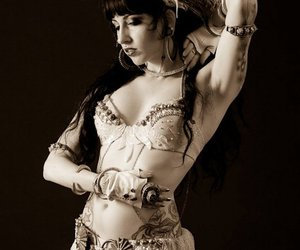 belly dance, vintage, and costume image