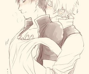 gintama, yaoi, and sakata gintoki image