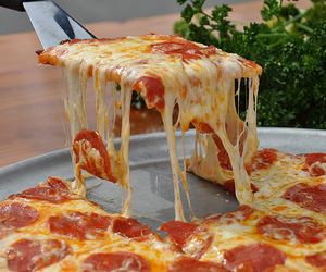 photography and pizza image