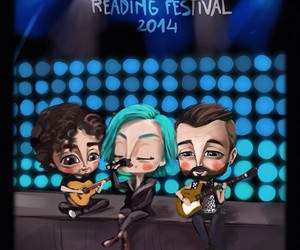 art, hayley williams, and jeremy davis image