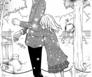 manga, hiyokoi, and hug image