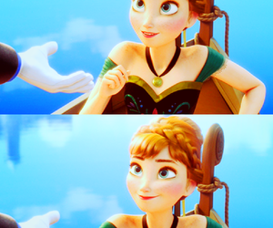 anna, disney princess, and frozen image