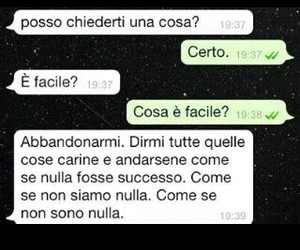 amore, italiano, and tristezza image