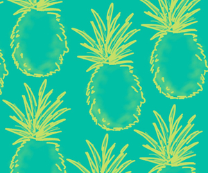 wallpaper, background, and pineapple image