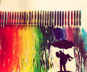 love, art, and colors image