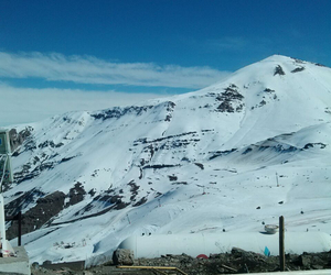 chile, ski resort, and frozen image