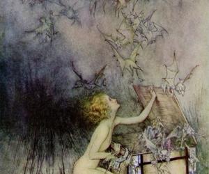 pandora, art, and illustration image