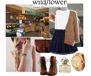 coffe, Polyvore, and starbucks image