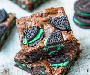 oreo, food, and brownies image