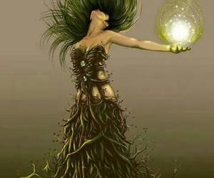 fantasy, woman, and art image