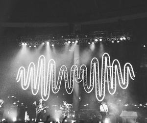 arctic monkeys and rock image