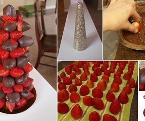 diy, food, and strawberry image