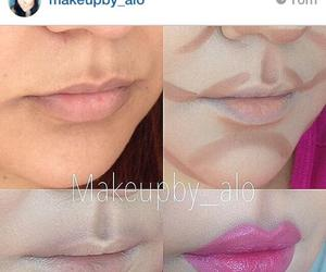 lips, make-up, and kylie jenner image