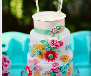 cake and colorful image