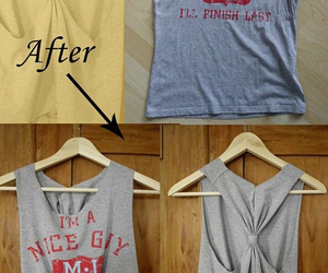 diy, t-shirt, and tutorial image