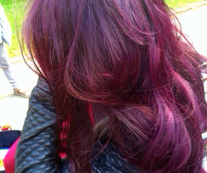 burgundy, colored, and dyed image