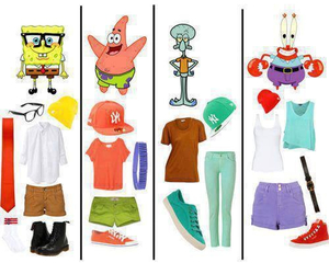 spongebob and outfit image