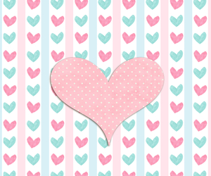 hearts, pink, and sweet image