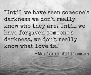 love, quotes, and Darkness image
