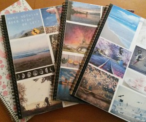 diy, greek, and notebooks image