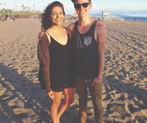 connor franta, cethany, and beach image