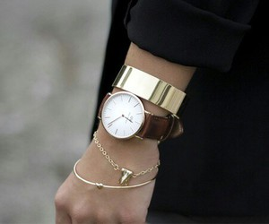 acessories, fashion, and watch image