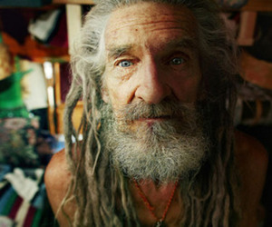 dreads, old man, and blue eyes image