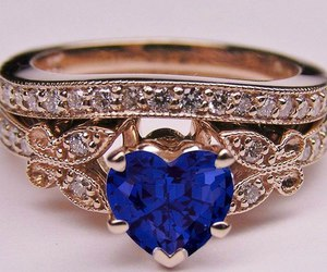 ring, heart, and diamond image