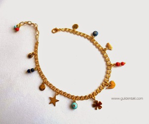 jewelry, anklet, and handmadejewelry image