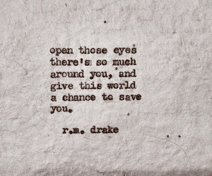 quotes, eyes, and poem image