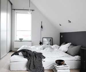 bedroom, decoration, and simple image
