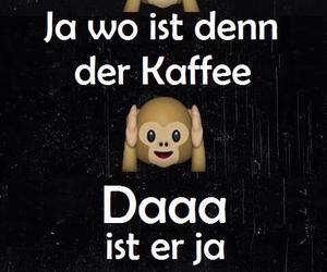Bett, Kaffee, and guten morgen image
