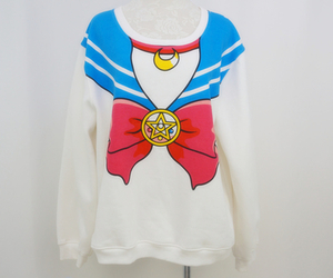jumper, sailormoon, and plussize image