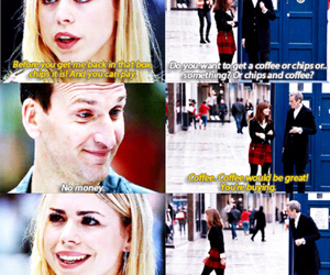 billie piper, doctor who, and nine image