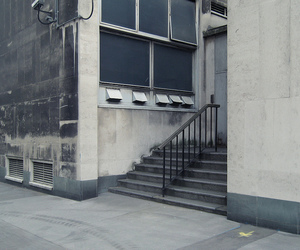 pale, building, and stairs image