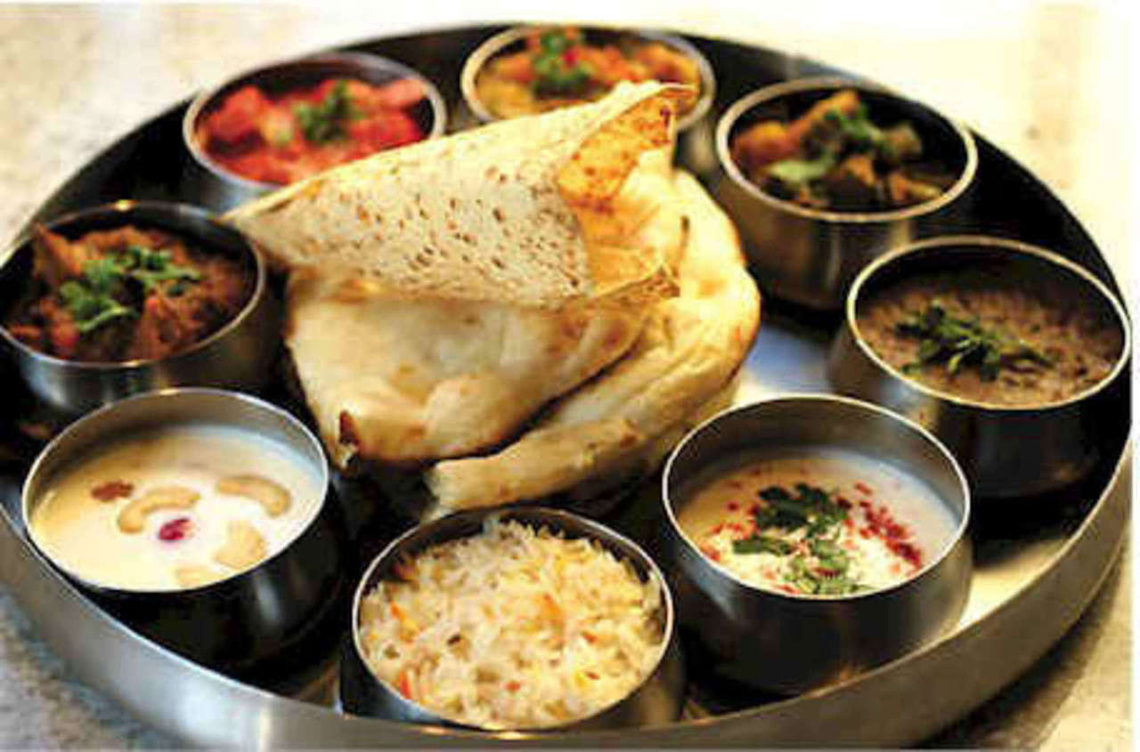 indian cuisine, labor day activities, and indian thali image